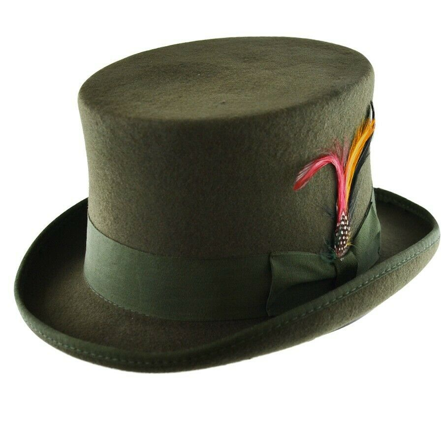 Olive Top Hat