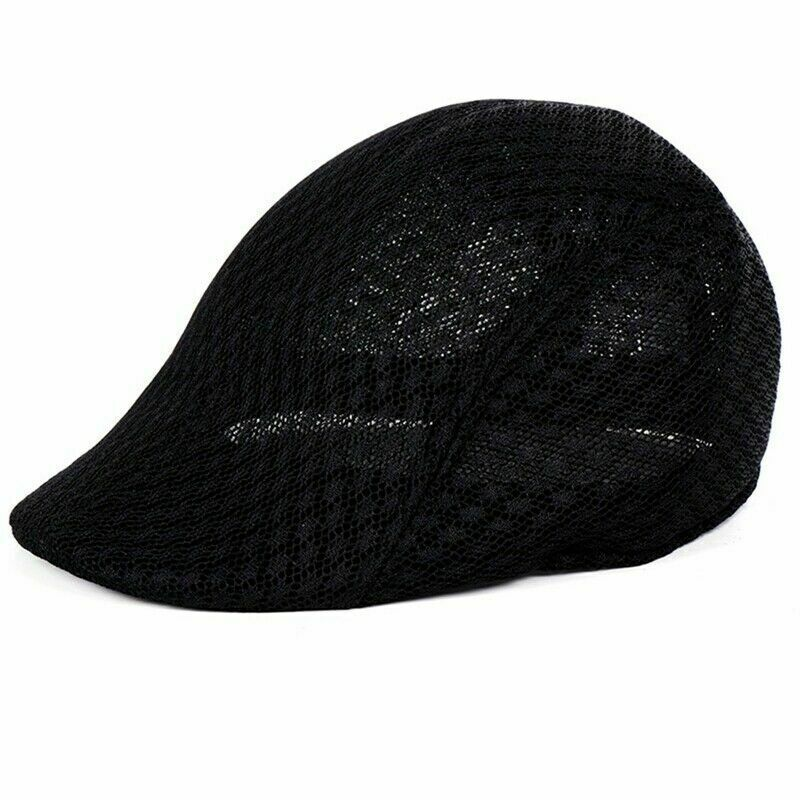 S192-summer mesh flat hat one size 12 pcs pack